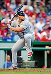 28 August 2010: St. Louis Cardinals outfielder Matt Holliday in action against the Washington Nationals at Nationals Park in Washington, DC. The Nationals defeated the Cards 14-5 to take the third game of their 4-game series. Mandatory Credit: Ed Wolfstein Photo