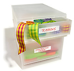 arts and craft storage plastic drawers