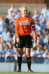 27 September 2009: Wake Forest's Laura Morse. The University of North Carolina Tar Heels defeated the Wake Forest University Demon Deacons 4-0 at Fetzer Field in Chapel Hill, North Carolina in an NCAA Division I Women's college soccer game.