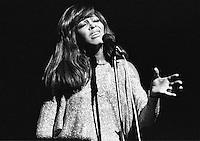 Tina Turner performing in 1973. Credit: Ian Dickson/MediaPunch