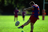 Action from the Wairarapa Bush reserves club rugby match between Pioneer and East Coast at Pioneer Rugby Club in Greytown, New Zealand on Saturday, 22 April 2017. Photo: Dave Lintott / lintottphoto.co.nz