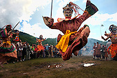 Asia, Tibet, Bhutan, Jakar, Cham, Tsechu, performer, actor