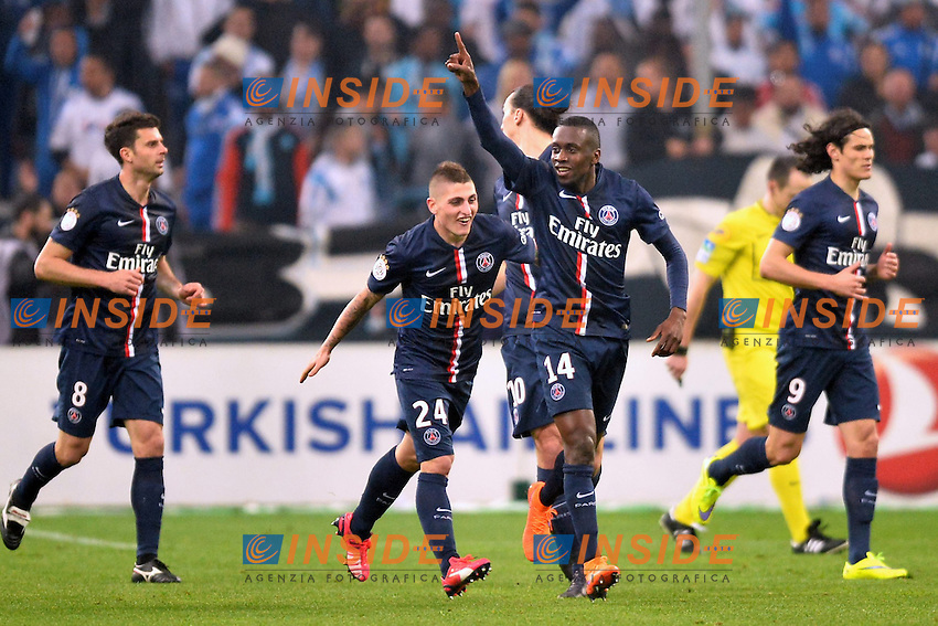 Blaise Matuidi (psg) <br /> Football Calcio 2014/2015<br /> Ligue 1 Francia Stadio VelodromeOlympique Marsiglia - Paris Saint Germain <br /> Foto Panoramic / Insidefoto <br /> ITALY ONLY