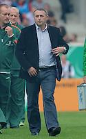 FUSSBALL   DFB POKAL   SAISON 2011/2012  1. Hauptrunde      30.07.2011 1. FC Heidenheim - SV Werder Bremen Manager Klaus Allofs (SV Werder Bremen) nachdenklich