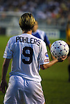 11 June 2003: Atlanta Beat forward Conny Pohlers of Germany. The Carolina Courage defeated the Washington Freedom 3-0 at SAS Stadium in Cary, NC in a regular season WUSA game.