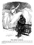 The Great Barrier. <br /> Ice Maiden (to Captain Scott). &quot;Courage you have, but you must have gold too before I let you pass.&quot;<br /> (There is grave fear lest the South Pole Expedition should fail for lack of funds. Contributions may be sent to Sir Edgar Speyer, 7 Lothbury, E.C.)
