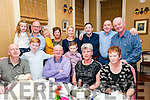 Double Celabration: John Dunne and his son Ivan celebrating their 70th & 40th birthdays with family & friends at the Listowel Arms Hotel on Saturday nigh last.