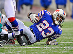 9 December 2007: Buffalo Bills rookie running back Marshawn Lynch in action against the Miami Dolphins at Ralph Wilson Stadium in Orchard Park, NY. The Bills defeated the Dolphins 38-17. ..Mandatory Photo Credit: Ed Wolfstein Photo