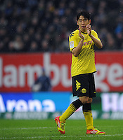 FUSSBALL   1. BUNDESLIGA   SAISON 2011/2012   18. SPIELTAG Hamburger SV - Borussia Dortmund     22.01.2012 Shinji Kagawa (Borussia Dortmund)