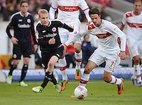 FUSSBALL   1. BUNDESLIGA  SAISON 2012/2013   9. Spieltag   VfB Stuttgart - Eintracht Frankfurt      28.10.2012 Martin Harnik (re, VfB Stuttgart) gegen Sebastian Rode (Eintracht Frankfurt)