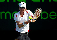 Mariya KORYTTSEVA (UKR) against Kristina BARROIS (GER) in the first round. Koryttseva beat Barrois 2-6 6-3 6-3..International Tennis - 2010 ATP World Tour - Sony Ericsson Open - Crandon Park Tennis Center - Key Biscayne - Miami - Florida - USA - Wed 24 Mar 2010..© Frey - Amn Images, Level 1, Barry House, 20-22 Worple Road, London, SW19 4DH, UK .Tel - +44 20 8947 0100.Fax -+44 20 8947 0117