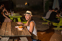 When Austin locals and tourist eat at East Austin's food-court trailer parks the economic benefit is to support small, local businesses and keep Austin growing.