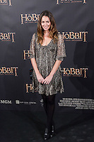 "Priscila de Gustin attends ""The Hobbit: An Unexpected Journey"" premiere at the Callao cinema- Madrid."