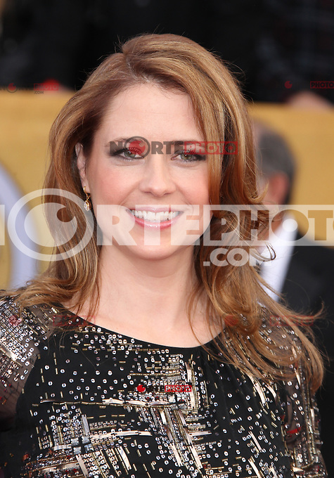 LOS ANGELES, CA - JANUARY 27: Jenna Fischer at The 19th Annual Screen Actors Guild Awards at the Los Angeles Shrine Exposition Center in Los Angeles, California. January 27, 2013. Credit: MediaPunch Inc. /NortePhoto /NortePhoto