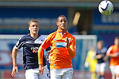 Two goal scorer Thomas Ince, Blackpool FC,   - Millwall vs Blackpool - NPower Championship Football at the New Den, London - 18/08/12 - MANDATORY CREDIT: Ray Lawrence/TGSPHOTO - Self billing applies where appropriate - 0845 094 6026 - contact@tgsphoto.co.uk - NO UNPAID USAGE