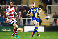 Picture by Alex Whitehead/SWpix.com - 16/03/2017 - Rugby League - Betfred Super League - Leigh Centurions v Warrington Wolves - Leigh Sports Village, Leigh, England - Warrington's Kevin Brown.