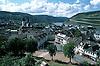 view over Bingen towards the Binger Loch of the Rhine valley<br /> <br /> vista sobre Bingen al Binger Loch del valle del Rhin<br /> <br /> Blick &uuml;ber Bingen auf das Binger Loch des Rheintals<br /> <br /> Original: 35 mm slide transparancy