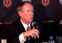WASHINGTON, DC-JULY 10,2012:  Kevin Payne during a D.C. United ownership press conference at the POV Lounge in the W Hotel, Washington, DC.