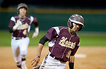 WATERBURY,  CT-051217JS16- Sacred Heart's Dominick Alamo (91) and Bryan Fernandez (4) both would come in to score on a bases-loaded triple by Peyton Stephens (10) during their game against Kennery Friday at Municipal Stadium in Waterbury. <br />   Jim Shannon Republican-American