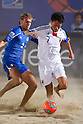 Takeshi Kawaharazuka (JPN), AUGUST 28, 2011 - Beach Soccer : Crescentini Trophy match between Italy 1-2 Japan at Stadio del Mare in Marina di Ravenna, Italy, (Photo by Enrico Calderoni/AFLO SPORT) [0391]