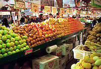 FRUITS &amp; VEGETABLES: FARMERS MARKET<br /> (Variations Available)<br /> Pears, Apples &amp; Citrus Fruit On Display<br /> Fruits provide vitamin A, vitamin C and fiber. The amount of these nutrients in each variety varies. Fiber helps promote regular digestion and may reduce the risk for certain cancers.