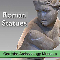 MuseoPics - Photos of Cordoba Museum Roman Statues - Pictures & Images - White
