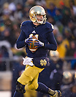 Nov. 23, 2013; Quarterback Tommy Rees (11) looks to throw against BYU.<br /> <br /> Photo by Matt Cashore
