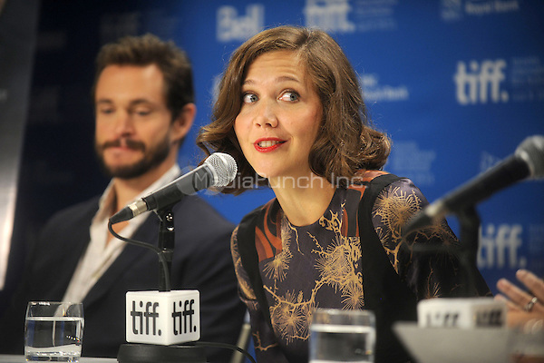 Hugh Dancy and Maggie Gyllenhaal at the Hysteria press conference during 2011 Toronto International Film Festival at TIFF Bell Lightbox on September 15, 2011 in Toronto, Canada. © mpi01 / MediaPunch Inc.