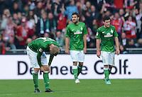 FUSSBALL   1. BUNDESLIGA  SAISON 2012/2013   6. Spieltag  29.09.2012 SV Werder Bremen - FC Bayern Muenchen    Aaron Hunt (SV Werder Bremen) enttaeuscht
