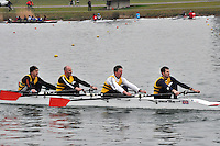 400 Christchurch RC MasC.4x‐..Marlow Regatta Committee Thames Valley Trial Head. 1900m at Dorney Lake/Eton College Rowing Centre, Dorney, Buckinghamshire. Sunday 29 January 2012. Run over three divisions.