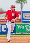 7 March 2015: Washington Nationals infielder Dan Uggla in Spring Training action against the St. Louis Cardinals at Space Coast Stadium in Viera, Florida. The Nationals rallied to defeat the Cardinals 6-5 in Grapefruit League play. Mandatory Credit: Ed Wolfstein Photo *** RAW (NEF) Image File Available ***