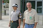 JSA Soldier & David Barron, Panmunjeom, Joint Security Area