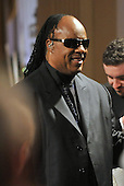 "Washington, D.C. - February 25, 2009 -- Stevie Wonder arrives at the tribute to him hosted by United States President Barack Obama and first lady Michelle Obama for the PBS broadcast of ""Stevie Wonder In Performance at the White House: The Library of Congress Gershwin Prize"" to showcase an evening of celebration at the White House in honor of musician Stevie Wonder's receipt of the Library of Congress Gershwin Prize for Popular Song in the East Room of the White House in Washington, D.C. on Wednesday, February 25, 2009..Credit: Ron Sachs / Pool via CNP"