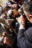 COCULLO (AQ) 05/05/2011: OLD TIPYCAL FEAST OF SNAKES - <br /> IL SANTO VIENE IMBASTITO DAI SERPENTI DURANTE<br /> L'ANTICA FESTA DEI SERPENTI. FOTO ADAMO DI LORETO