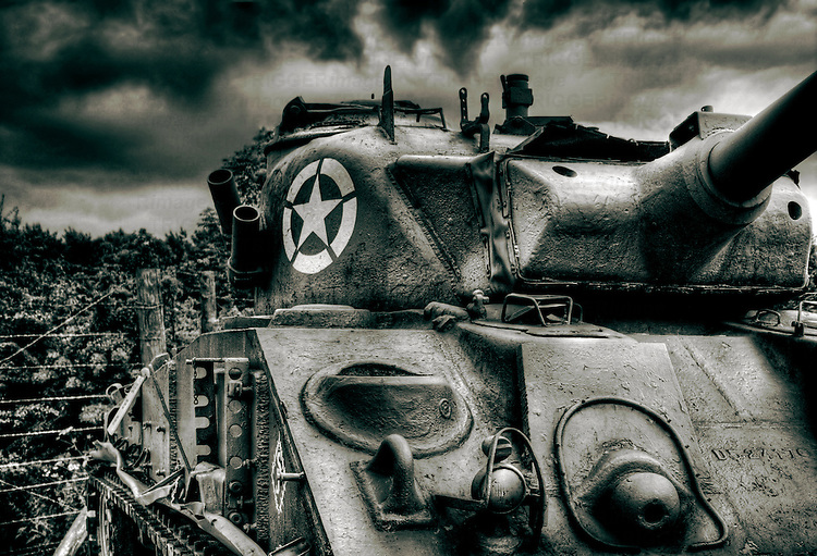 The M4 Sherman, officially the Medium Tank, M4, was the primary battle tank used by the United States and the other Western Allies in World War II