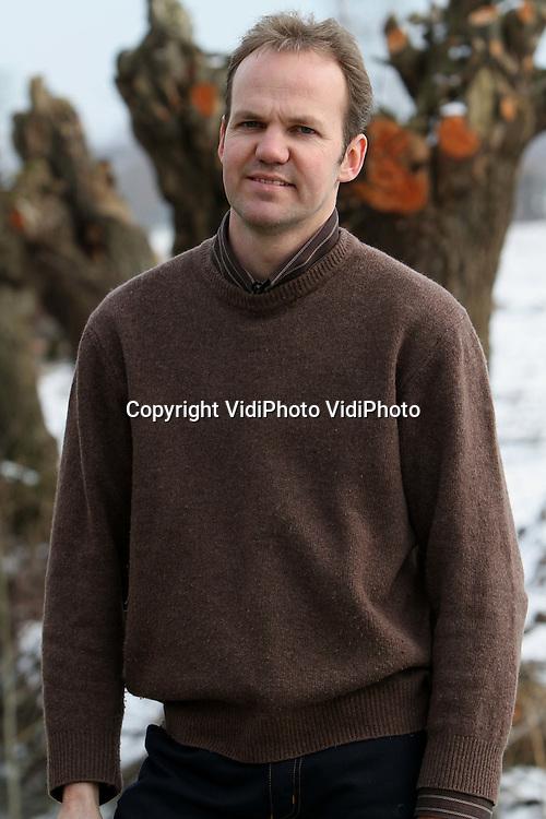 Foto: VidiPhoto..EDERVEEN - Agrarisch ondernemer Wilco van Laar uit Ederveen.