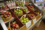 Apples, Granny Smith and Gala, grown in Medina, Texas. At the Love Creek Bakery.