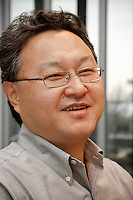 Shuhei Yoshida, president of Sony Computer Entertainment Inc. Having joined Sony Corporation in 1986 where he was involved in the corporate strategy group, as well as coordinating the PC business and developing software as one of the initial members of the PlayStation project, he became Senior vice president, product development, Sony Computer Entertainment America  in March 2007 and president of Sony Worldwide studios on May 16th 2008. Sony Computer Entertainment headquarters, Aoyama Itchome, Tokyo, Japan January 21st 2010
