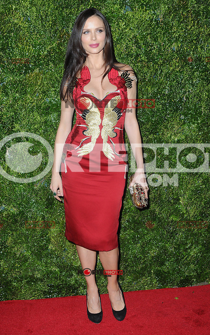 "New York, NY- December 4, 2012: Georgina Chapman attends the HBO and Vogue Screening ""In Vogue: The Editor's Eye"" at the Metropolitan Museum of Art on December 4, 2012 in New York City. (C) Joe Stevens / Mediapunch ©/NortePhoto /NortePhoto© /NortePhoto /NortePhoto"