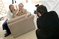 Pierre Etaix (C), 20 ans de la Fondation Groupama-Gan pour le Cinema, Cannes, France, 18 mai 2007.