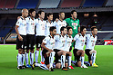 Vissel Kobe team group line-up,..JULY 23, 2011 - Football :..Vissel Kobe team group shot (Top row - L to R) Kunie Kitamoto, Hiroyuki Komoto, Hiroto Mogi, Ryosuke Matsuoka, Yosuke Ishibitsu, Kenta Tokushige, (Bottom row - L to R) Popo, Botti, Park Kang Jo, Takayuki Yoshida and Hideo Tanaka before the 2011 J.League Division 1 match between Yokohama F Marinos 1-0 Vissel Kobe at Nissan Stadium in Kanagawa, Japan. (Photo by AFLO)