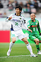 Shingo Kukita (Matsumoto Yamaga),.MARCH 4, 2012 - Football / Soccer :.2012 J.League Division 2 match between Tokyo Verdy 2-0 Matsumoto Yamaga F.C. at Ajinomoto Stadium in Tokyo, Japan. (Photo by AFLO)