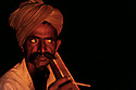 Portrait of a musician in The Thar Desert of Rajasthan, India