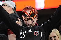 D.C. United United Fan. D.C. United defeated FC Dallas 4-1 at RFK Stadium, Friday March 30, 2012.