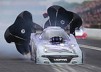 May 1, 2016; Baytown, TX, USA; NHRA funny car driver Jack Beckman during the Spring Nationals at Royal Purple Raceway. Mandatory Credit: Mark J. Rebilas-USA TODAY Sports