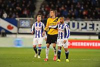 VOETBAL: HEERENVEEN: Abe Lenstra Stadion 04-04-2015, SC Heerenveen - NAC, uitslag 0-0, Pele van Anholt (#5), ©foto Martin de Jong