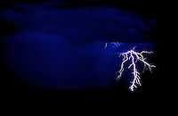 Lightning storm in the outback of Australia - Images from the Book Journey Through Color and Time
