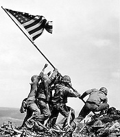 IWO JIMA PHOTO BY JOE ROSENTHAL