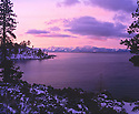 Lake Tahoe Scenic Winter Morning