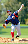6 March 2006: Bill Bray, pitcher for the Washington Nationals, on the mound during a Spring Training game against the Los Angeles Dodgers. The Nationals and Dodgers played to a scoreless tie at Holeman Stadium, in Vero Beach Florida...Mandatory Photo Credit: Ed Wolfstein..